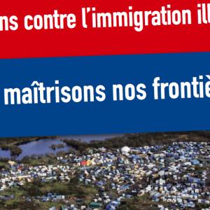 Luttons Contre L'immigration Illégale, Maitrisons Nos Frontières !